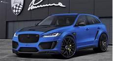 Jaguar F Pace Clr F By Lumma Design Sports 480 Hp