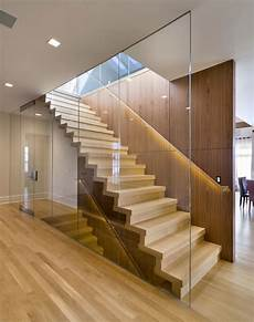 Treppe Mit Glaswand - frameless glass walls partitions