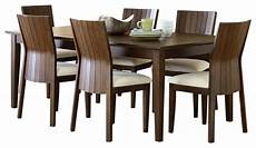 steve silver harlow 7 piece rectangular dining room set in tobacco and cherry dining sets by