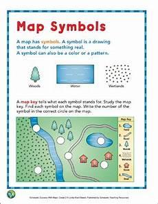 map symbols worksheet grade 4 11622 map symbols map skills printable maps and skills sheets