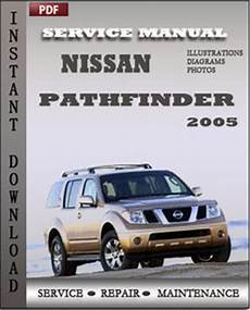 online service manuals 2005 nissan pathfinder engine control nissan service and repair manuals