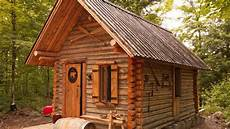 Log Cabin Timelapse Built By One In The Forest
