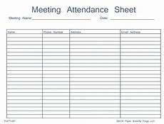 46 best attendance sheet template exles for classroom and meeting thogati