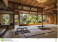 Intérieur Maison Japonaise Int 233 Rieur De Maison De Th 233 Japonaise Avec Zen Garden Kyoto Japon Photo Stock Image Du