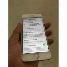 Hp Bekas Iphone 6s 16gb Silver Normal Siap Pakai Harga