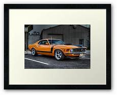 quot a true american muscle car quot framed prints by