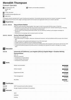 stay at home mom resume exle description tips