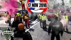 Blocage Des Gilets Jaunes Ca Tourne Mal Gta 5 Lspdfr