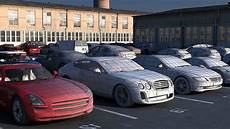 3d Model Parking With Cars Collection Cgtrader