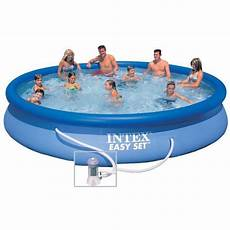intex easy set piscine ronde autoportante 4 57 x 0 84 m
