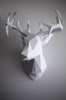 Die Besten 25 3d Origami Hirsch Anleitung Ideen Auf
