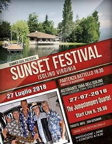 Cing Isolino - isolino sunset festival a biandronno 2018 va