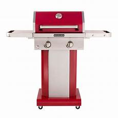 Kitchenaid Bbq Grill Home Depot by Kitchenaid 2 Burner Propane Gas Grill In With Grill