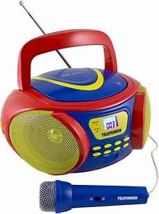 tragbarer mp3 player kinder telefunken rc1006m tragbarer kinder cd player mp3 ukw