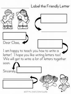 label a friendly letter activity and song friendly letter letter activities letter worksheets