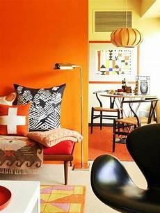 wandfarbe orange 80 einrichtungsbeispiele f 252 r wandfarben mit positiver