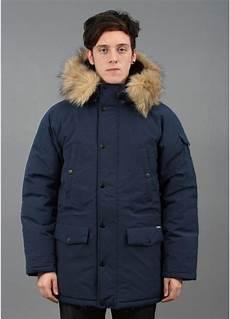 carhartt anchorage hooded parka blue