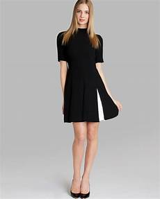lyst ted baker dress ciena pleated in black