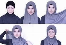 Tutorial Pashmina Wajah Kotak Ragam Muslim