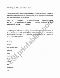 my last duchess summary esl esl worksheet by nephthys