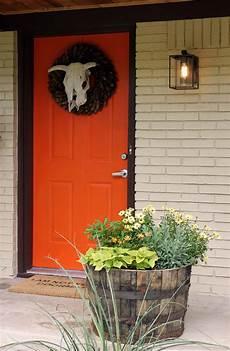 best orange paint color for front door 30 best front door color ideas and designs for 2020