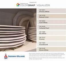 i found these colors with colorsnap 174 visualizer for iphone by sherwin williams dreamy white sw