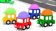 4 Kleine Autos - lehrreicher zeichentrickfilm die 4 kleinen autos auf der