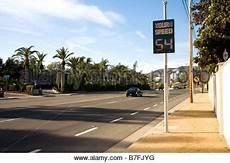 tempolimit spanien autobahn tempolimit schild in einer autobahn in der n 228 he