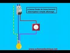 branchement detecteur de mouvement 5825 schema branchement cablage interrupteur simple allumage