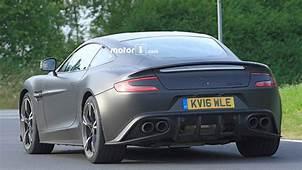 Hardcore Aston Martin Vanquish S Spied At Nurburgring