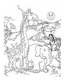 malvorlagen zoo kostenlos zum ausdrucken