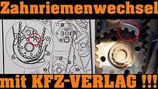 Vw 2 0 Tdi Zahnriemenwechsel Mit Kfz Verlag Teil 1