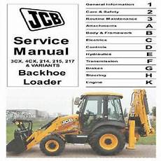 jcb 3cx 4cx 214e 214 215 217 dieselmax service manual