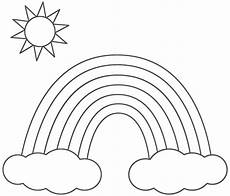 rainbow coloring pages for kids printable only coloring pages