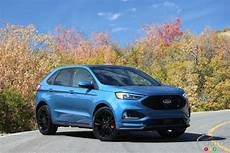 2019 ford edge sport st drive of the 2019 ford edge st car reviews auto123