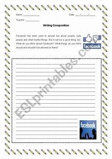 composition writing worksheets 22790 writing composition esl worksheet by ricardo86