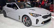 New Kia Stinger Shows Its Colors In Detroit