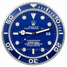 xl rolex submariner 116619lb blau platinum wanduhr