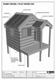 free cubby house plans cubby house play house build one with your children