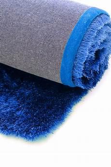 teppich grün blau hochflor shaggy teppich gentle luxus blau ultramarin