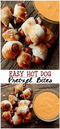 easy pretzel bites april golightly