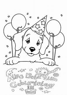 Ausmalbilder Geburtstag Tiere Ausmalbilder Alles Gute Zum Geburtstag Drucken Sie Kostenlos