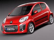 citroen c1 city citroen c1 2013 city car 3d 3ds