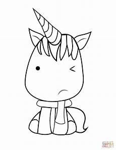 kawaii unicorn drawing at getdrawings free