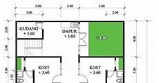 Gambar Denah Rumah Kos Sederhana Terbaru Zonabuzz