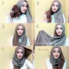 Gambar Tutorial Pashmina Yang Simple Jilbab Sederhana
