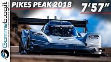 Pikes Peak 2018 - volkswagen i d r pikes peak 2018 race clip and