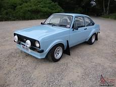 Ford Mk2 1600 Sport 1979 Bermuda Blue