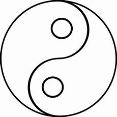Malvorlagen Yin Yang Gratis Yin Yang Coloring Pages Free On Clipartmag