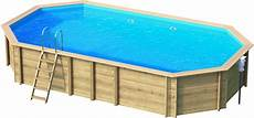 Pool Bausatz Holz Holzpool Octa8 15 Oval Schwimmbecken Blockbohlen Bausatz